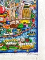 There's Music New Jersey, New York and Long Island Too 3-D Limited Edition Print by Charles Fazzino - 2