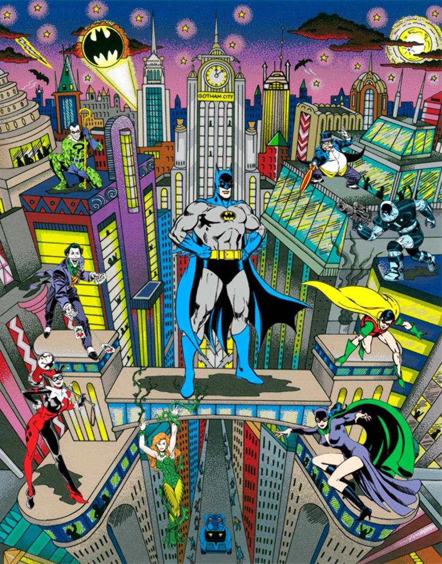Batman the Dark Knight 3-D 2009 Limited Edition Print by Charles Fazzino