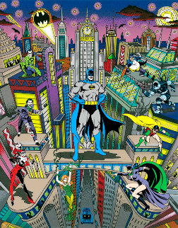 Batman the Dark Knight 3-D 2009 Limited Edition Print - Charles Fazzino
