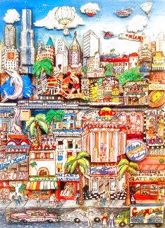 Miami Heat  3-D 1991 Limited Edition Print - Charles Fazzino