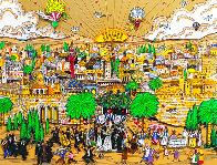 Wedding in Jerusalem 3-D Limited Edition Print by Charles Fazzino - 0