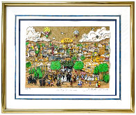 Wedding in Jerusalem 3-D Limited Edition Print by Charles Fazzino - 1