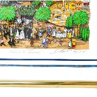 Wedding in Jerusalem 3-D Limited Edition Print by Charles Fazzino - 2