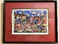 What's to Nosh 1992 3-D Limited Edition Print by Charles Fazzino - 1