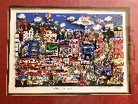 What's to Nosh 1992 3-D Limited Edition Print by Charles Fazzino - 2