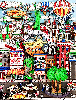 Totally New York 3-D Limited Edition Print - Charles Fazzino