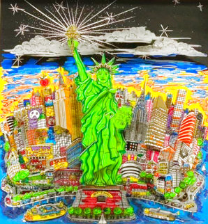 Liberty And Justice For All 3-D Limited Edition Print - Charles Fazzino