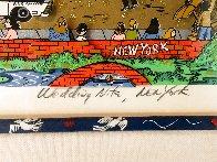 Wedding Nite, New York 3-D Limited Edition Print by Charles Fazzino - 3