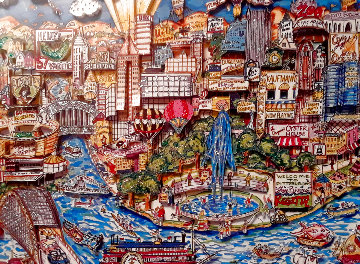 Pittsburgh 1992 3-D Limited Edition Print - Charles Fazzino