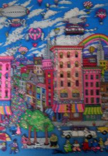 Manhattan Mania 3-D New York 1993 Limited Edition Print by Charles Fazzino