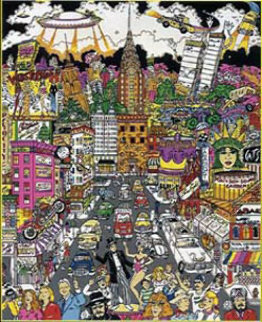 In a New York Minute 3-D 1998 Limited Edition Print by Charles Fazzino