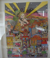 Hollywood 3-D California Limited Edition Print by Charles Fazzino - 1