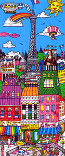 Rive Gauche Limited Edition Print by Charles Fazzino