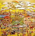 Amore Di Roma 1987 3-D  Limited Edition Print - Charles Fazzino