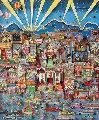 I Love L.A. 3-D Limited Edition Print - Charles Fazzino