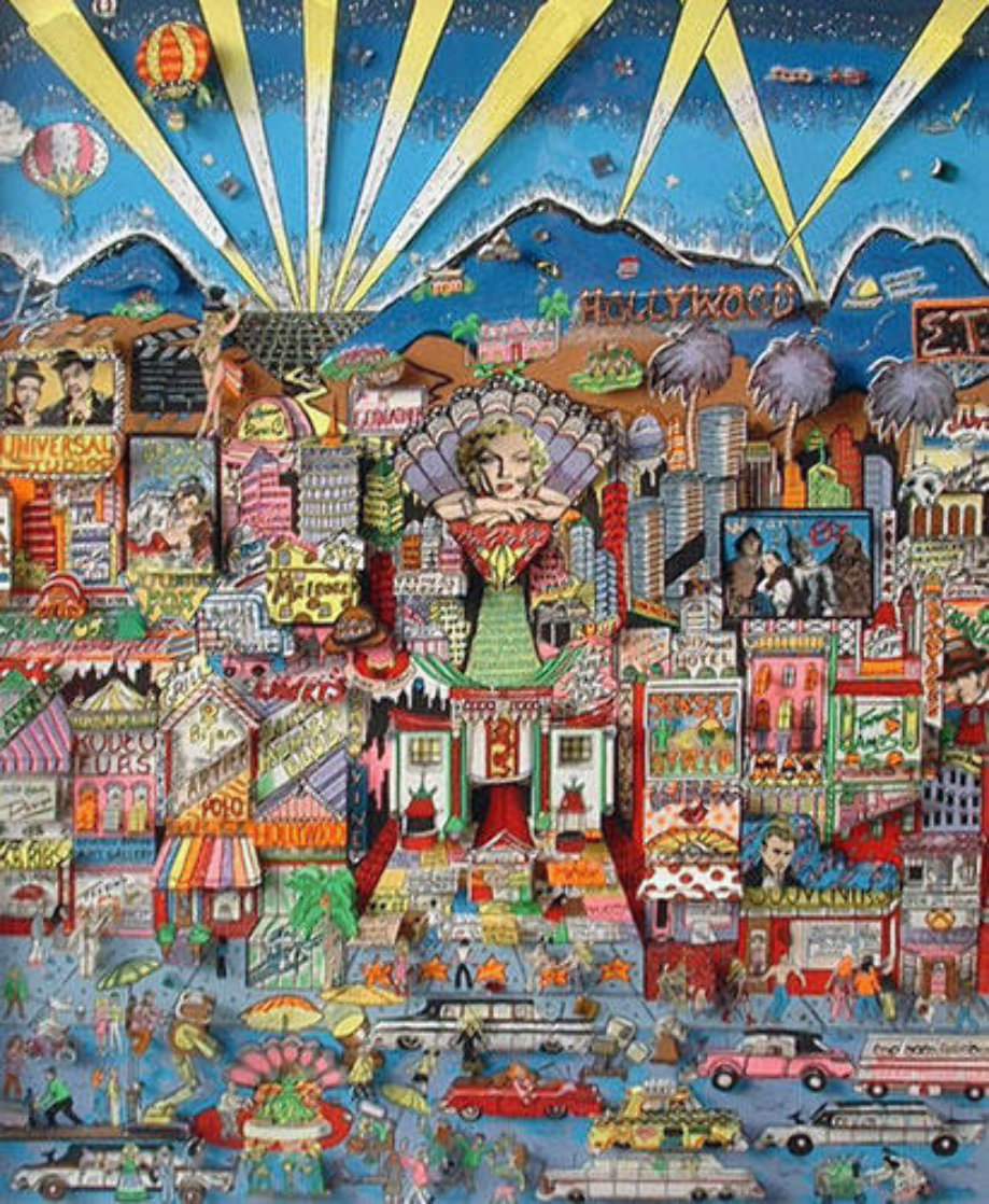 I Love L.A. 3-D Limited Edition Print by Charles Fazzino