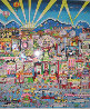 I Love L.A. 3-D Limited Edition Print by Charles Fazzino - 4