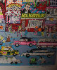I Love L.A. 3-D Limited Edition Print by Charles Fazzino - 2