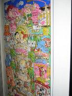 Flintstones Break Rock Vegas 3-D  AP 1996 Limited Edition Print by Charles Fazzino - 3