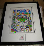 Let's Go Yankees 3-D Limited Edition Print by Charles Fazzino - 1