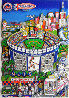 Subway Series 3-D, Suite of 2 New York Limited Edition Print by Charles Fazzino - 0