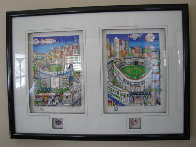 Subway Series 3-D, Suite of 2 New York Limited Edition Print by Charles Fazzino - 2