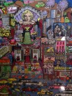 I Love L.A.  3-D AP Limited Edition Print by Charles Fazzino - 3