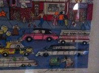 I Love L.A.  3-D AP Limited Edition Print by Charles Fazzino - 4