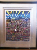 I Love L.A.  3-D AP Limited Edition Print by Charles Fazzino - 1