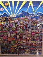 I Love L.A.  3-D AP Limited Edition Print by Charles Fazzino - 2