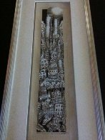 Moonlight Over Manhattan 3-D 1997 Embellished Limited Edition Print by Charles Fazzino - 1