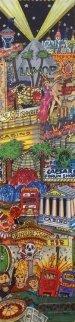 Looting Las Vegas 3-D Limited Edition Print - Charles Fazzino