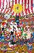 Circus Days 1982 Original Painting by Charles Fazzino - 0