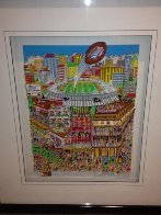 Super Bowl XXXVI 3-D Limited Edition Print by Charles Fazzino - 1