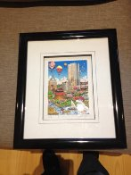 Balloons Over Boston 3-D 2002 Limited Edition Print by Charles Fazzino - 1