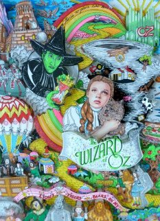 Wizard of Oz 3-D 1998  Limited Edition Print by Charles Fazzino