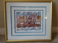 Atlantic City, New Jersey  3-D AP Limited Edition Print by Charles Fazzino - 1