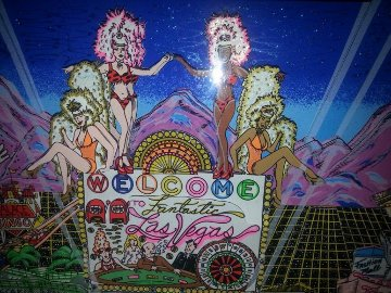 Welcome to Fabulous Las Vegas 3-D 1999 Embellished Limited Edition Print - Charles Fazzino