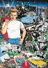 Forever James Dean 3-D Embellished Limited Edition Print by Charles Fazzino - 0