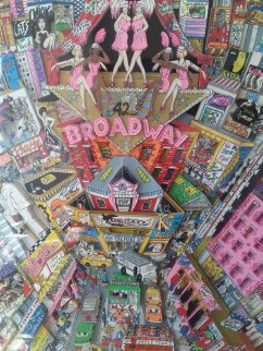 Broadway And Beyond 3-D 2000 44x34 Limited Edition Print by Charles Fazzino