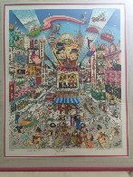 Broadway Toons 3-D 1995  Limited Edition Print by Charles Fazzino - 1