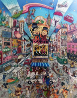 Broadway Toons 3-D 1995  Limited Edition Print by Charles Fazzino - 0