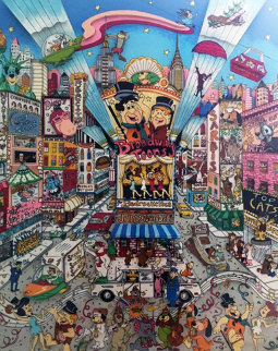 Broadway Toons 3-D 1995  Limited Edition Print by Charles Fazzino