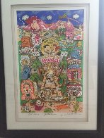 Flintstones Welcome to Rock Vegas 3-D 1996 Limited Edition Print by Charles Fazzino - 1