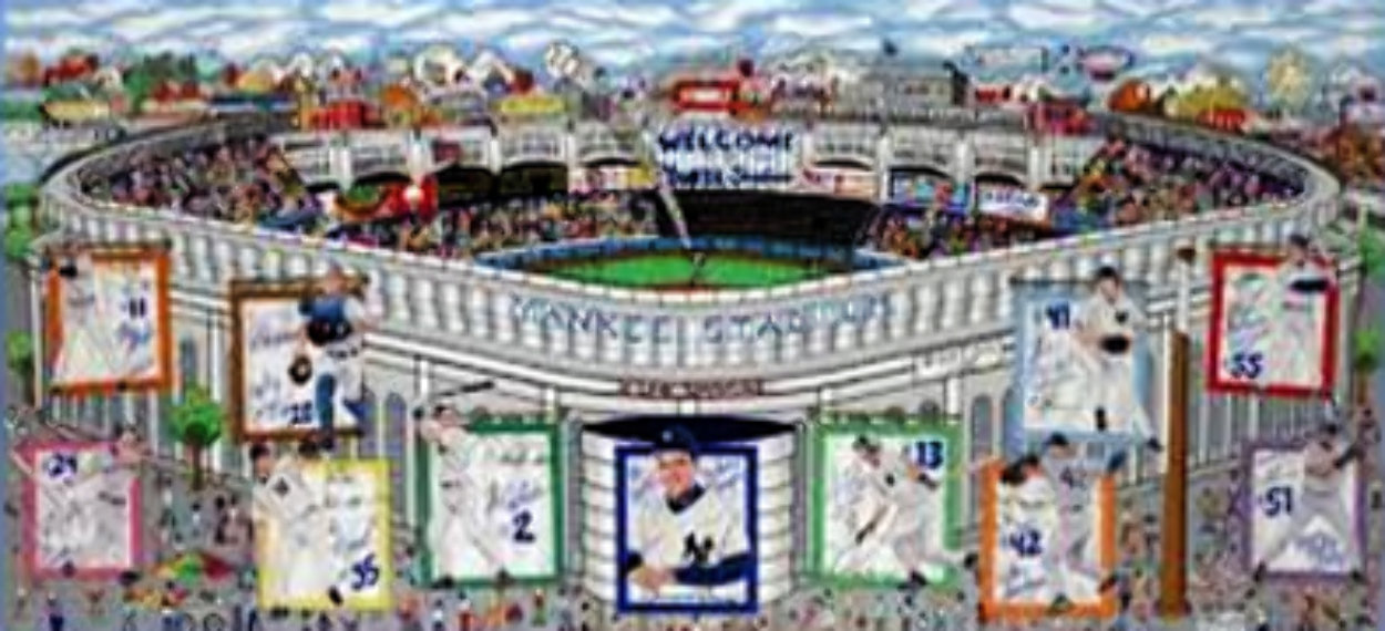 In a Yankee State of Mind  3-D 2005 New York) Limited Edition Print by Charles Fazzino