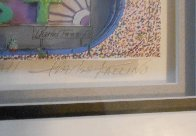 I Luv Football 3-D 1989 Limited Edition Print by Charles Fazzino - 3