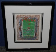 I Luv Football 3-D 1989 Limited Edition Print by Charles Fazzino - 1