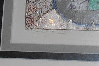I Luv Football 3-D 1989 Limited Edition Print by Charles Fazzino - 2
