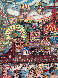 Coney Island 1986 3-D New York Limited Edition Print by Charles Fazzino - 0