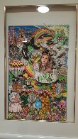 Greatest Show on Earth 3-D W pkg of 4  Limited Edition Print by Charles Fazzino - 4